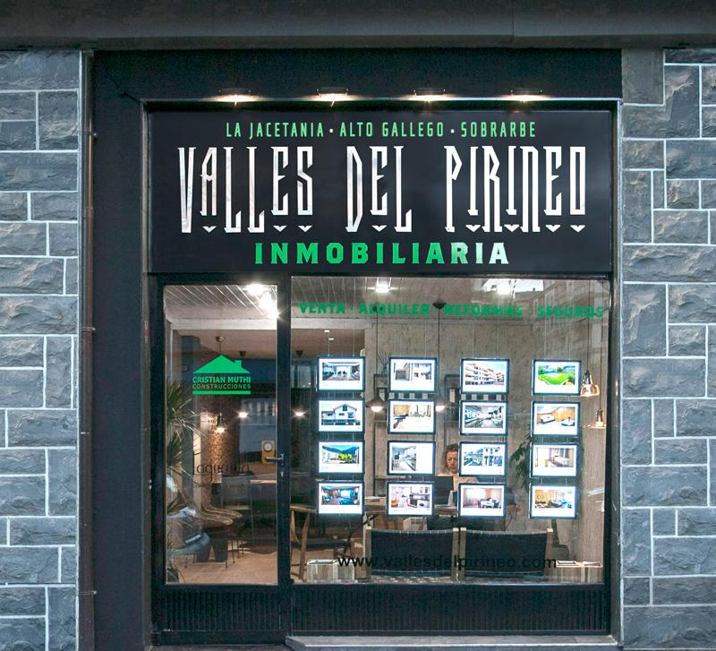 Inmobiliaria Valles del Pirineo en Jaca